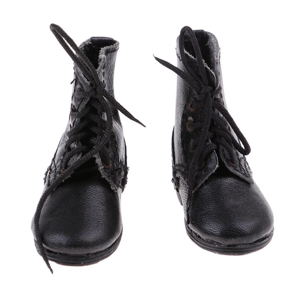 männlich 1//6 Stiefel Schuhe Kampfstiefel für 12 /'/'Action Figuren
