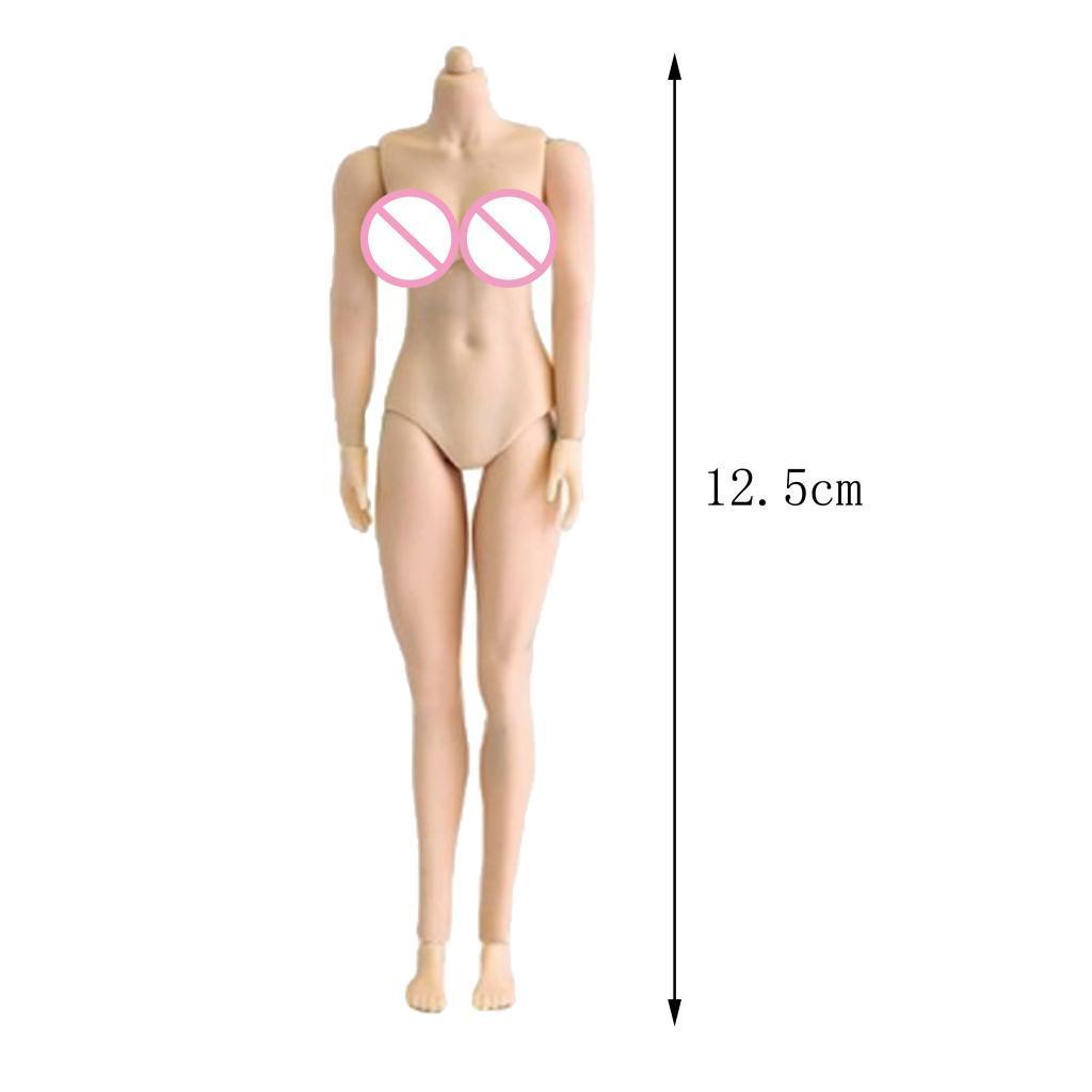 Realiste-1-12-echelle-femme-nue-Action-soldat-figurines-corps-jouets-5-034-hauteu miniature 9