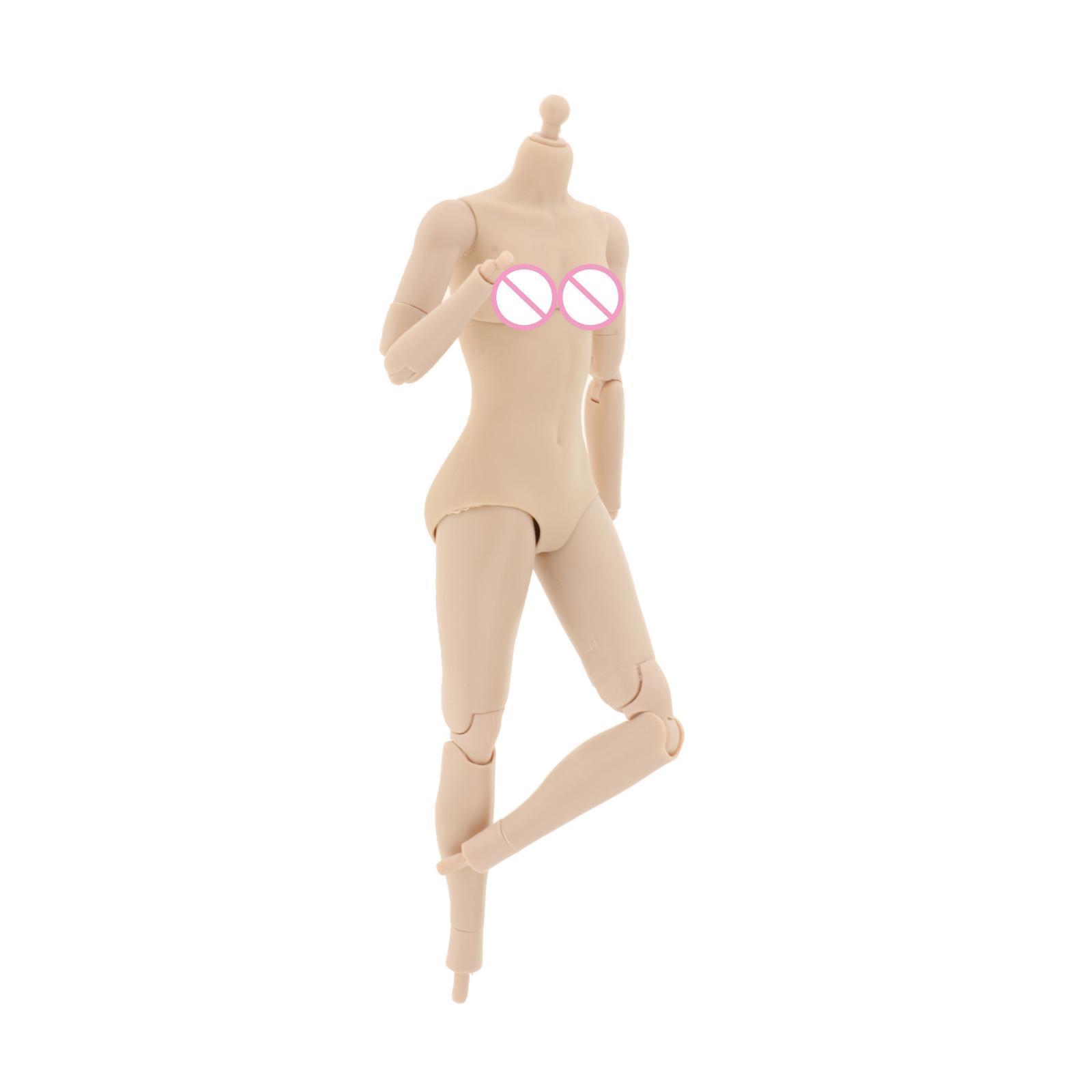 miniature 21 - 1/6 Scale Female Flexible Body 12 Inches Action Figure Body Seamless Figure