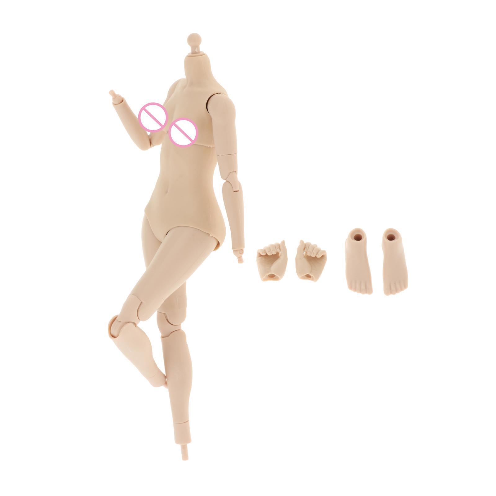 miniature 16 - 1/6 Scale Female Flexible Body 12 Inches Action Figure Body Seamless Figure