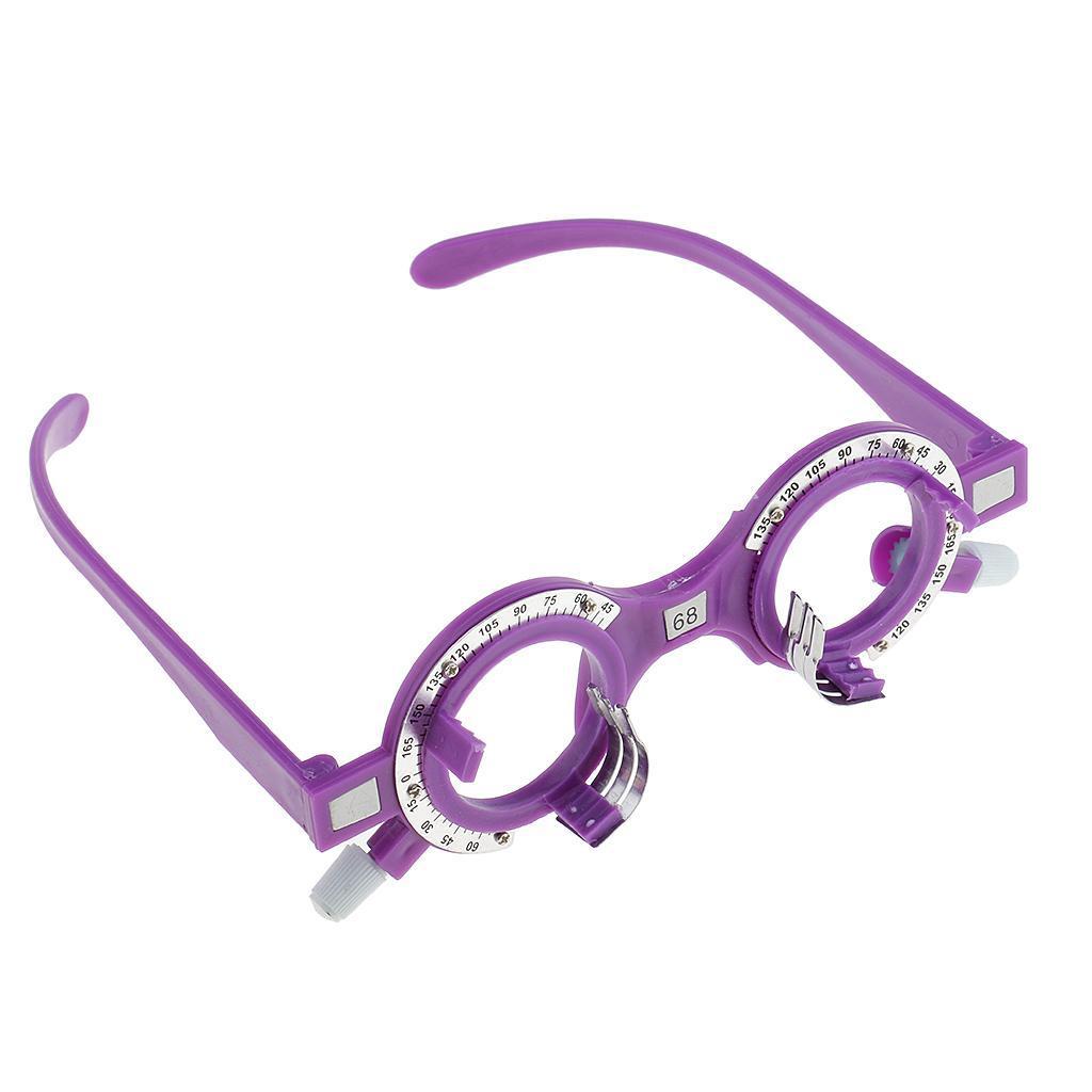 Optical-Optical-Lens-Trial-Optometry-Occhiali-per-Occhi-Equipaggiamento miniatura 32