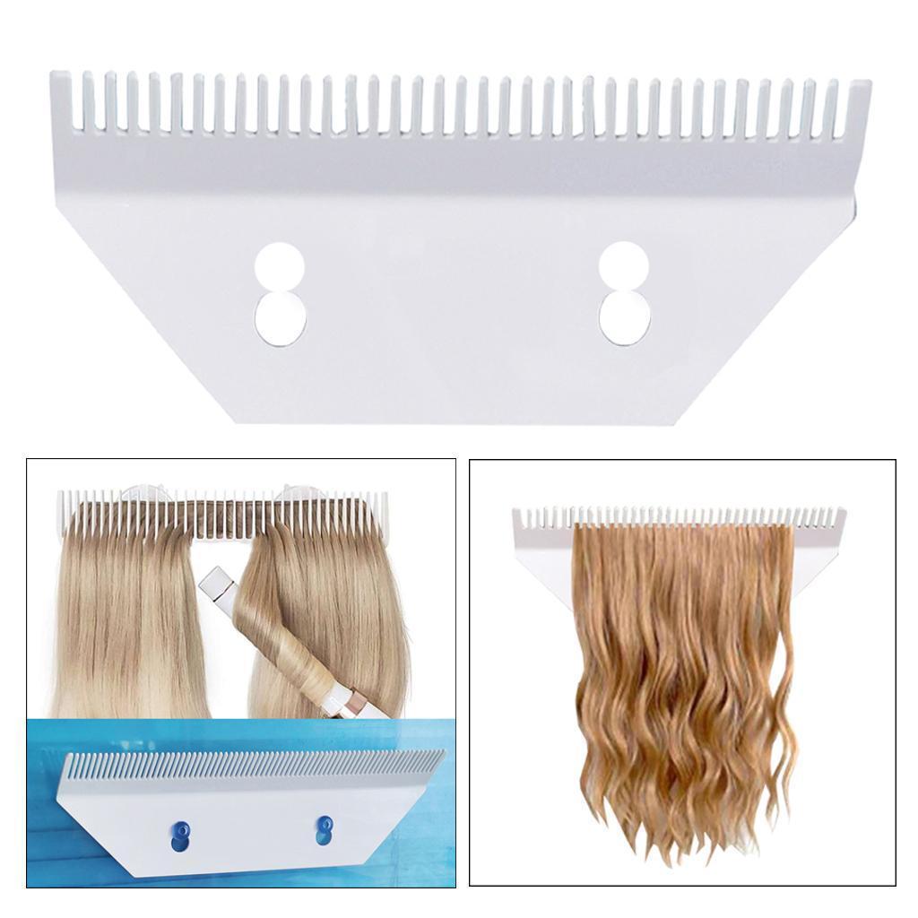 Extensions-de-cheveux-acryliques-Toupet-perruques-support-d-039-affichage-cintre miniature 10