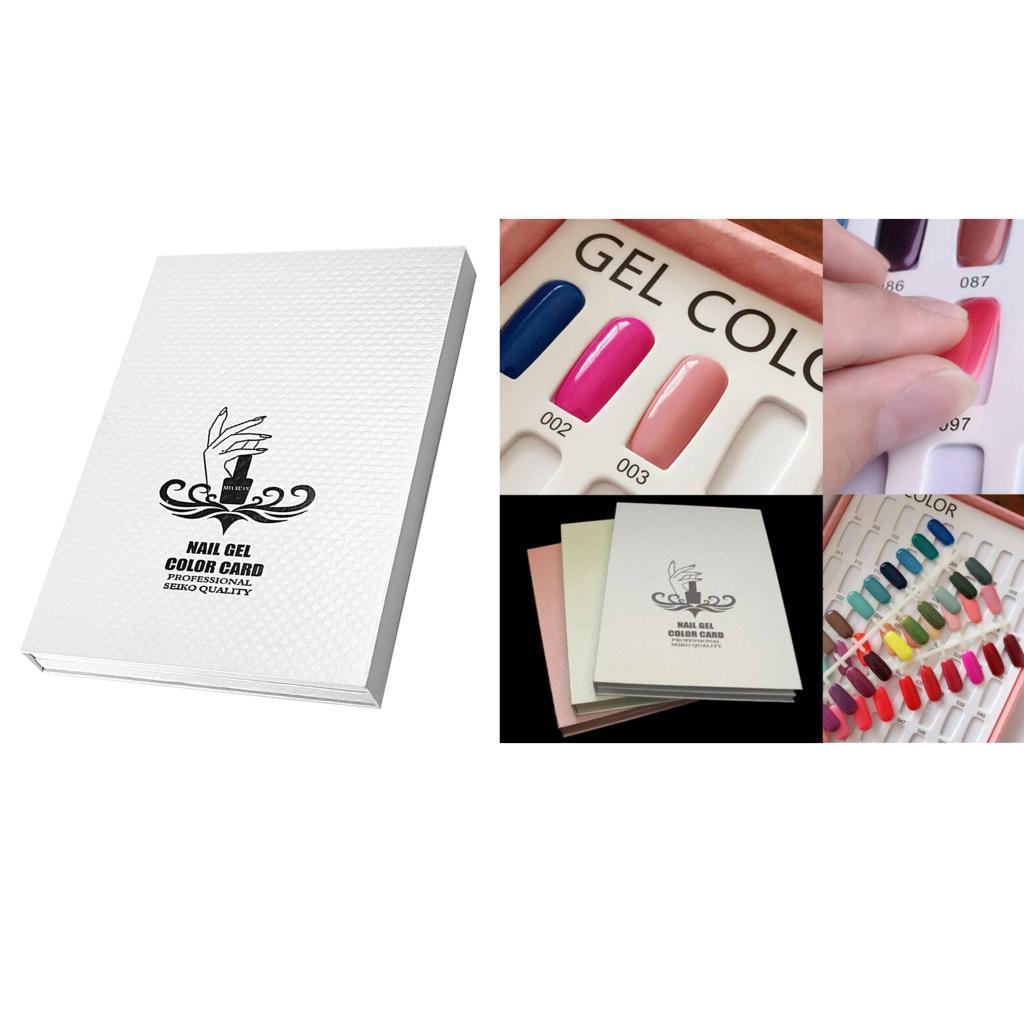 Manicure-di-Arte-Del-120-Smalto-Del-Gel-Carta-di-Colore-Grafico-di miniatura 14
