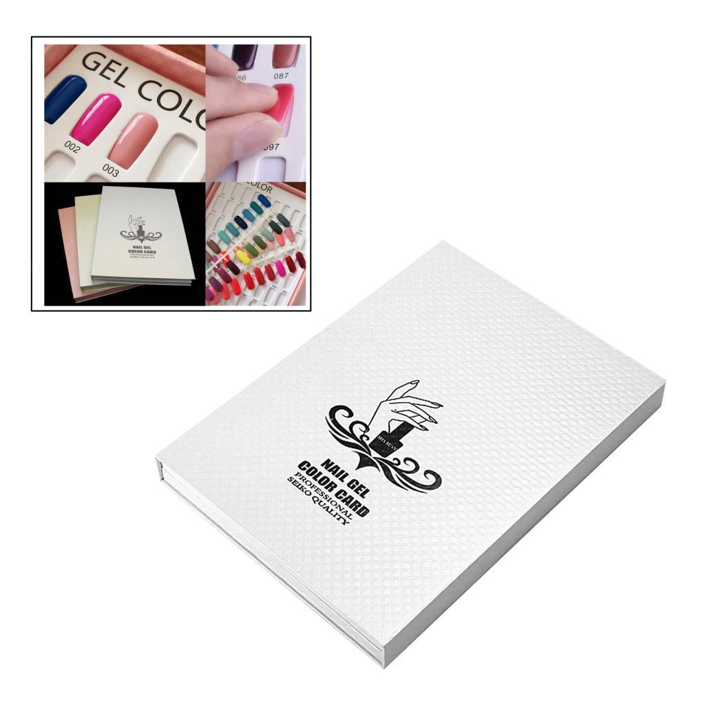 Manicure-di-Arte-Del-120-Smalto-Del-Gel-Carta-di-Colore-Grafico-di miniatura 15