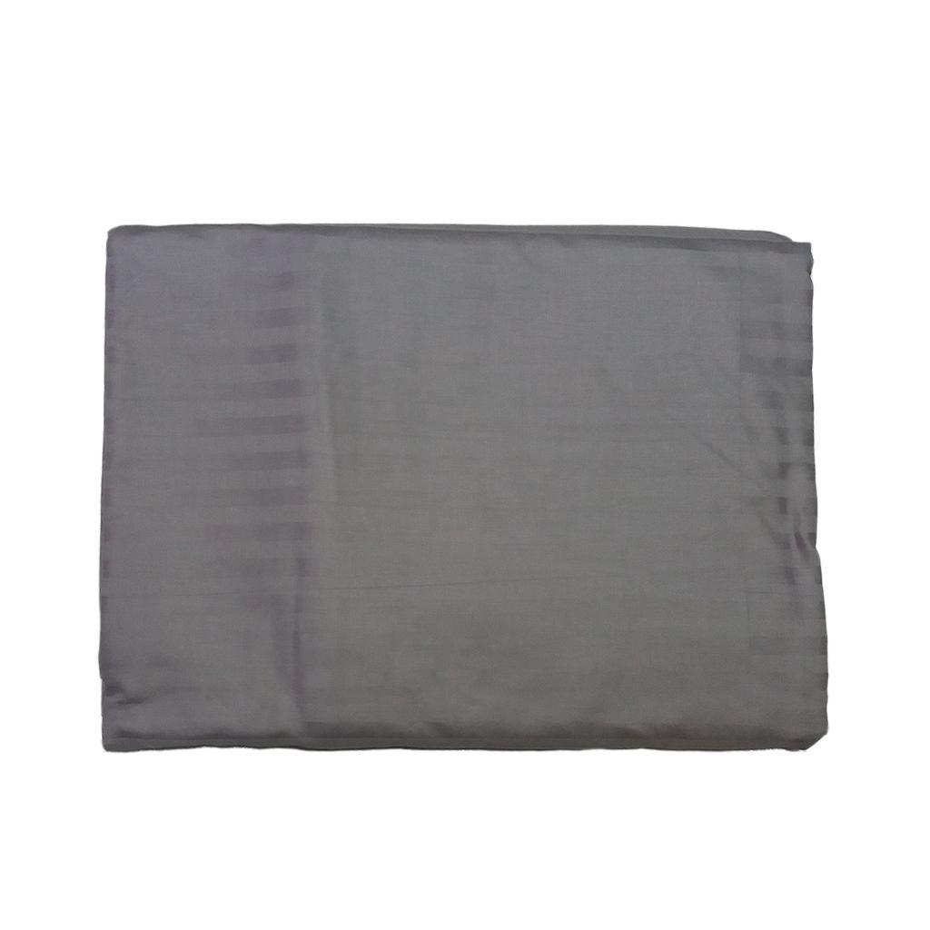 Bettlaken Set mit Stepp bezug und Kissen bezug für 1,2 m Größe Bett grau
