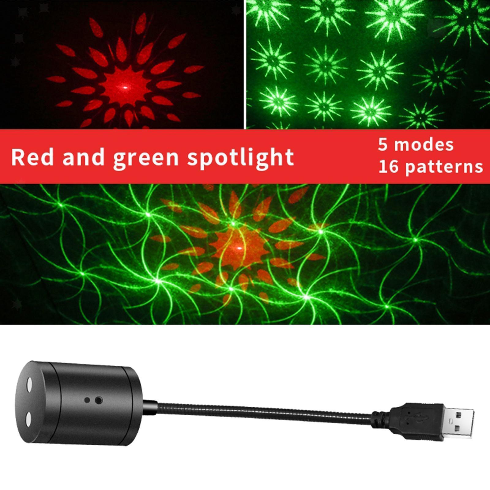 Proiettore-della-stella-Della-Luce-di-Notte-USB-Luce-di-Notte-Luci-Interne miniatura 20