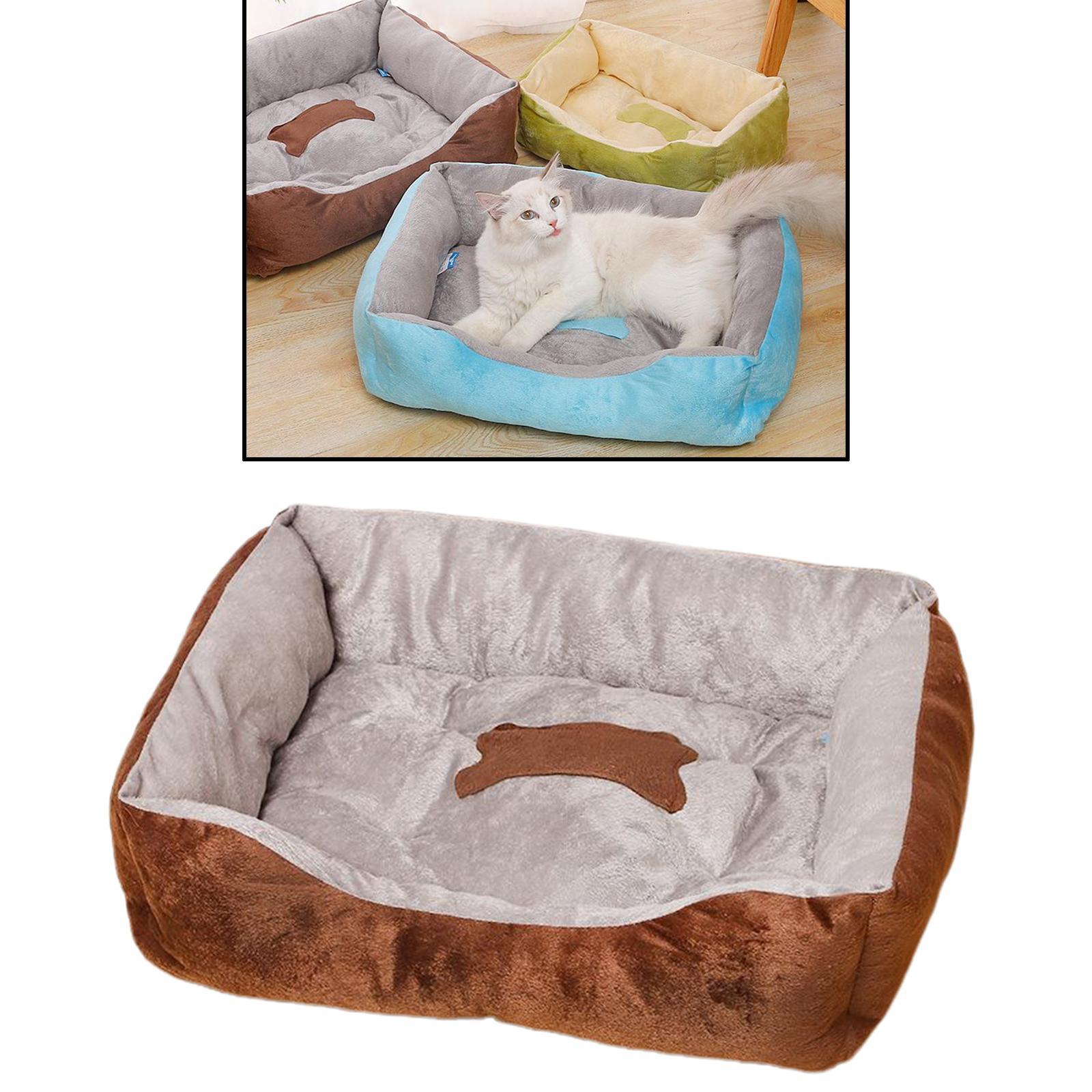 Indexbild 38 - Katze-Hund-Bett-Pet-Kissen-Betten-Haus-Schlaf-Soft-Warmen-Zwinger-Decke-Nest