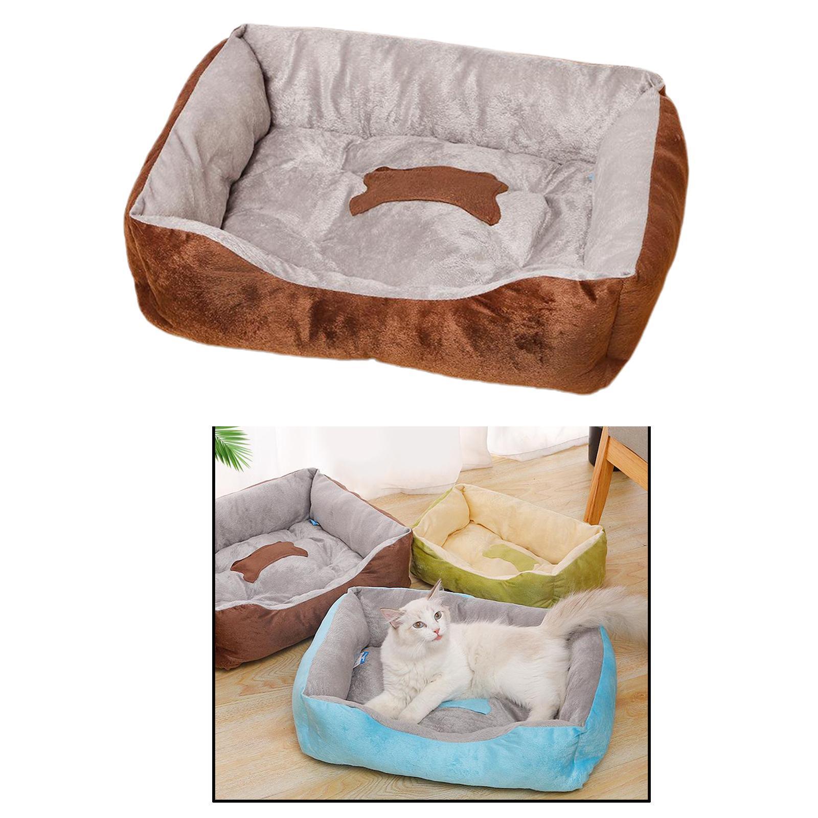 Indexbild 43 - Katze-Hund-Bett-Pet-Kissen-Betten-Haus-Schlaf-Soft-Warmen-Zwinger-Decke-Nest