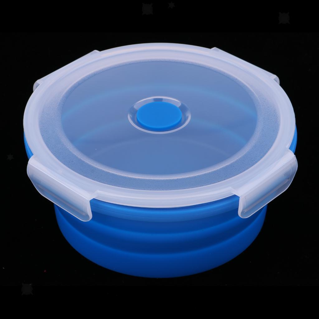 Bol-De-Camping-En-Silicone-Pliable-Qualite-Alimentaire-Et-Sans-BPA miniature 12