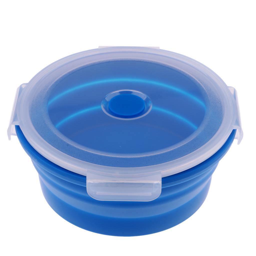 Bol-De-Camping-En-Silicone-Pliable-Qualite-Alimentaire-Et-Sans-BPA miniature 11