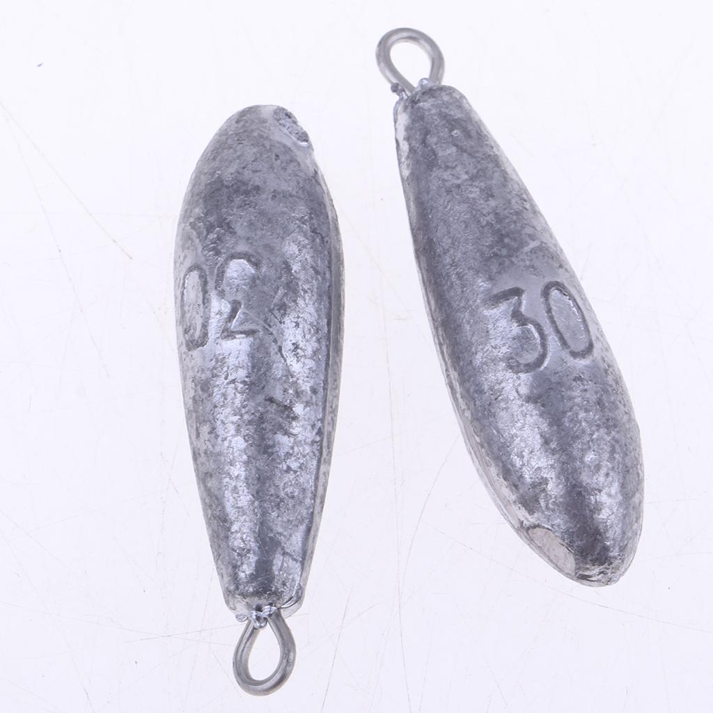 25-pesi-da-pesca-di-alta-qualita-pesano-pesi-a-forma-di-pesi miniatura 3