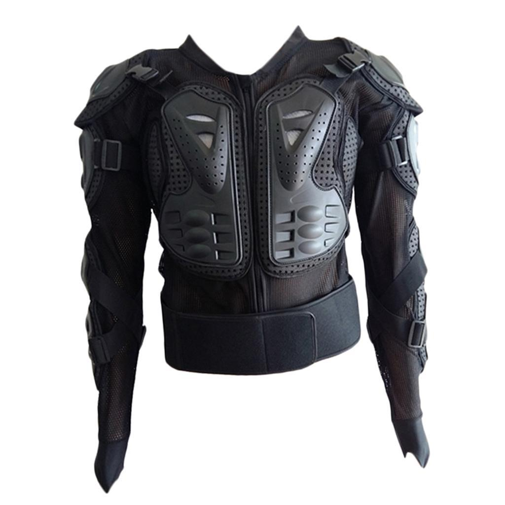 thumbnail 10 - Motorcycle-S-XXXL-Full-Body-Protection-Armor-Jacket-Racing-Spine-Chest-Gear