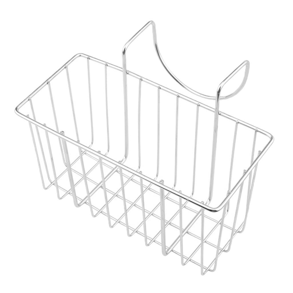 Porta-Spugne-Da-Cucina-Porta-Spazzole-Per-Piatti-Cestello-Per-Drenaggio miniatura 3