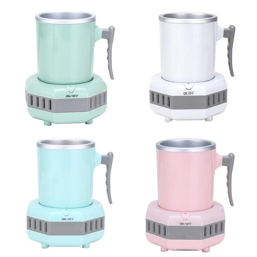 miniatura 14 - Mini Elettrica Macchina Per Macchina del Ghiaccio Mini Frigo per il Latte di