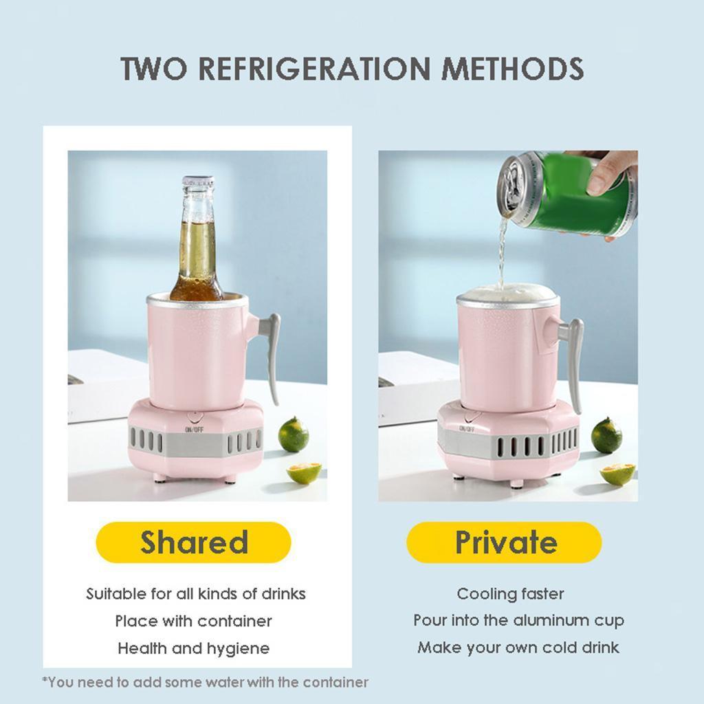 miniatura 10 - Mini Elettrica Macchina Per Macchina del Ghiaccio Mini Frigo per il Latte di