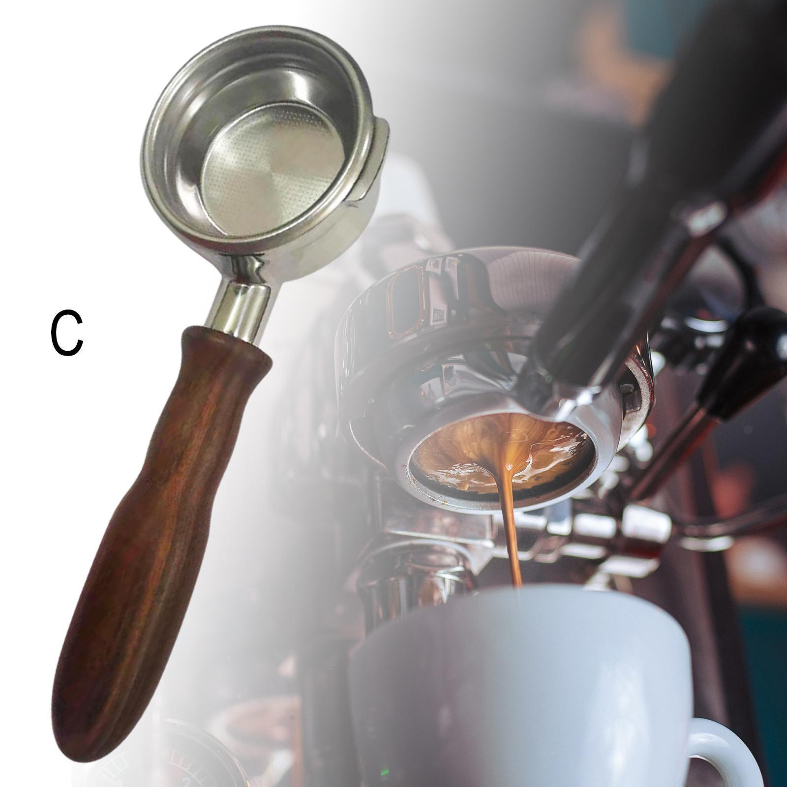 Indexbild 9 - 58mm Kaffee Siebträger ohne Boden für Breville BES920/980 Werkzeug