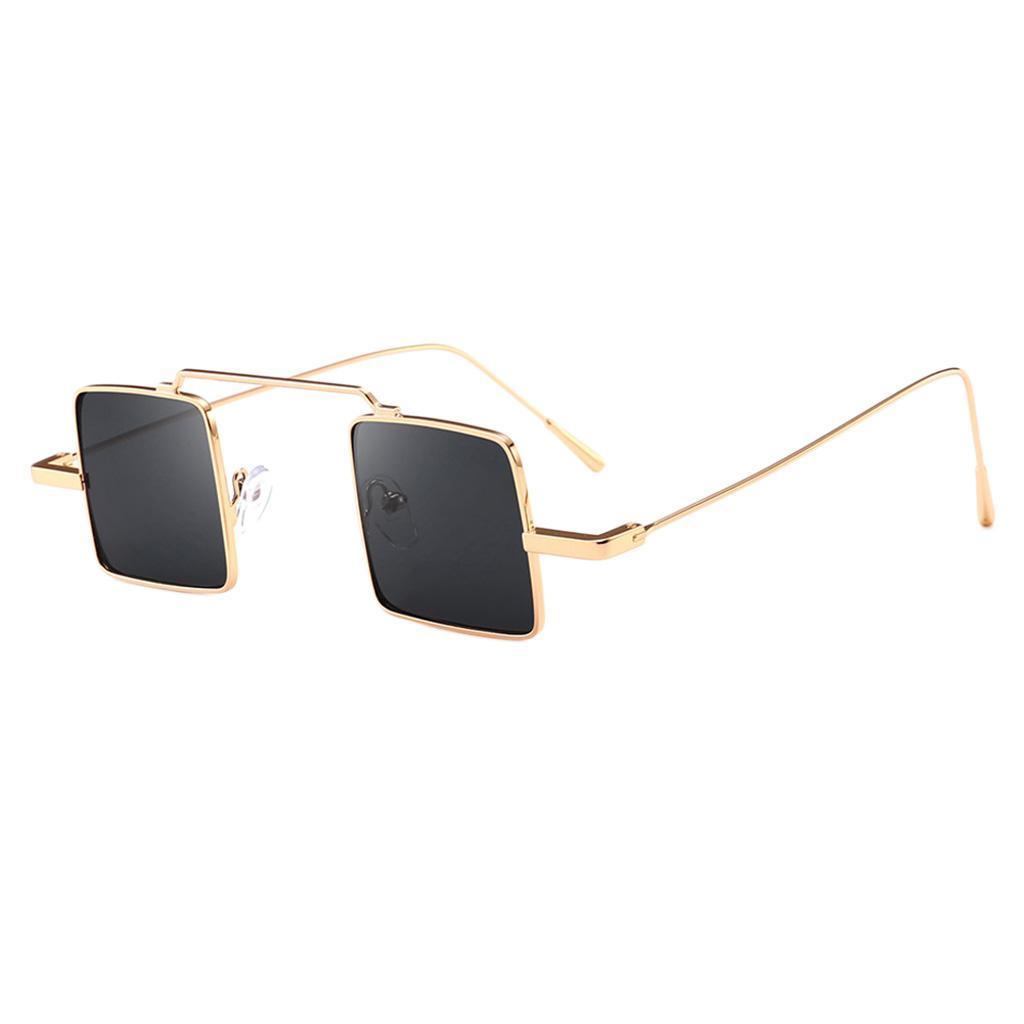 Klassische-quadratisches-Design-Sonnenbrille-mit-UV400-Schutz Indexbild 9