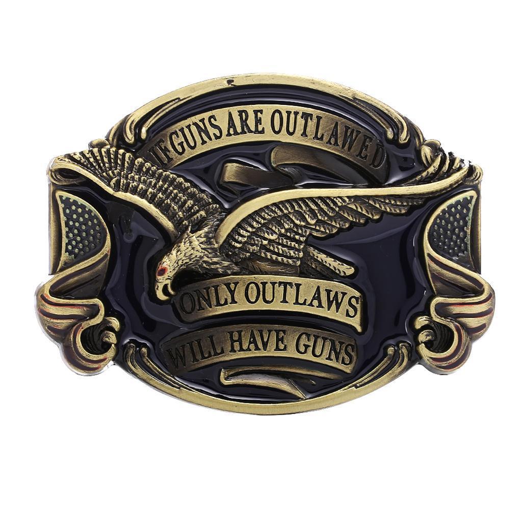 Western Cowboy Cowgirls Belt Buckle Riding Belt Buckle Roaring
