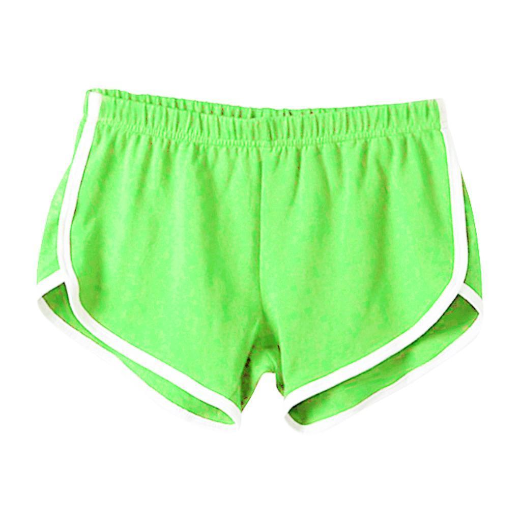 Shorts-de-sport-en-soie-de-lait-pour-femmes-Yoga-Dance-Pantalons-courts-Shorts miniature 25