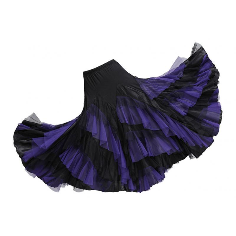 Tanzkleid Tanzrock Lateinrock Tellerrock Kleid Latin Dance Rock Faltenrock