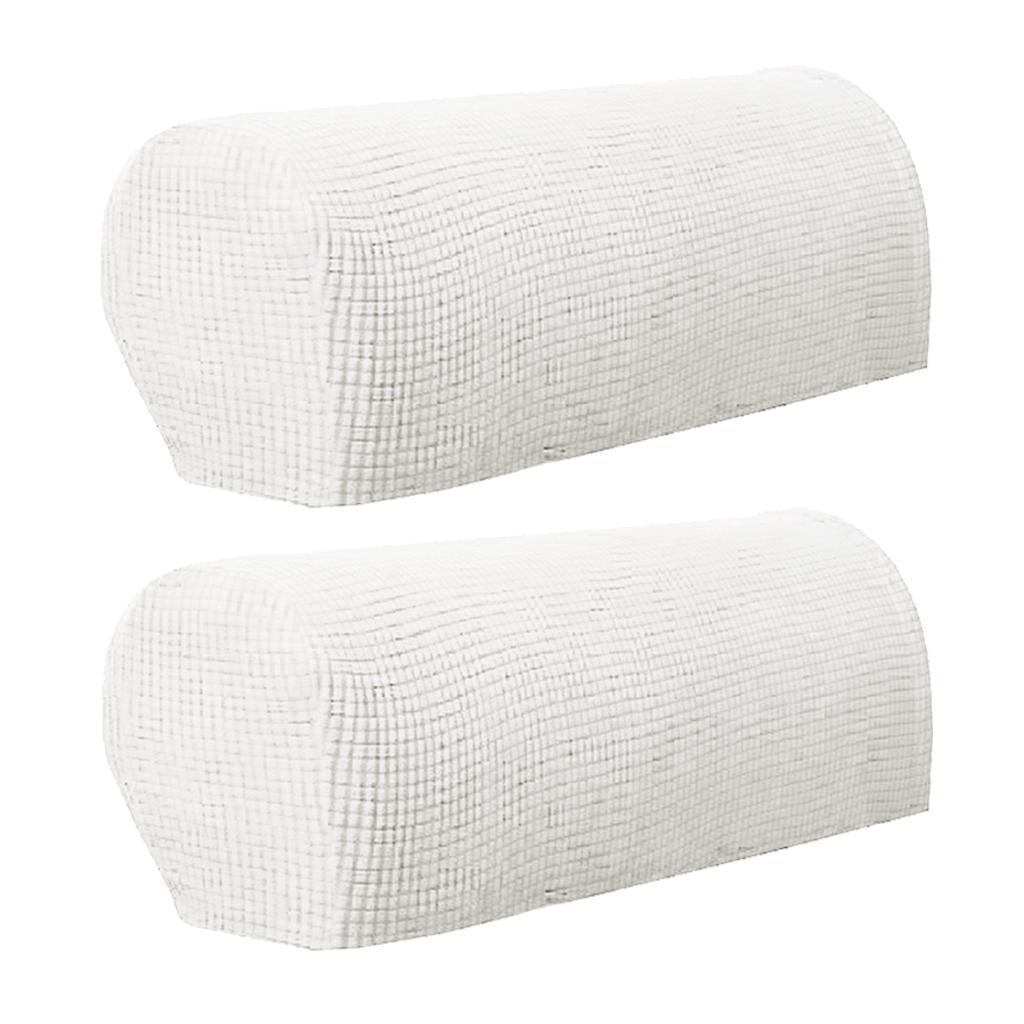 2pcs Sessel Stretch Armlehnenschoner Armlehne Schoner Sesselschoner Möbelschutz