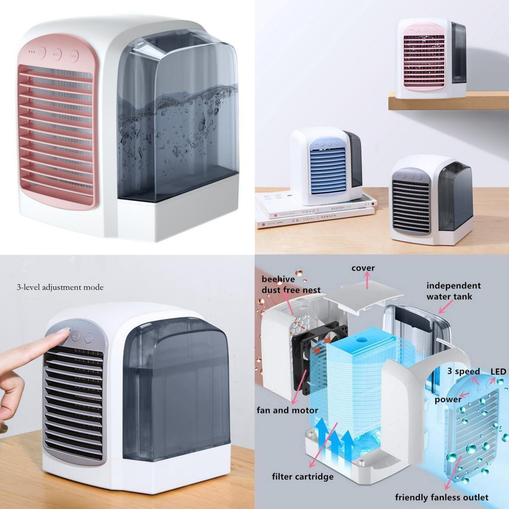 miniature 17 - Ventilateur-de-refroidissement-par-eau-de-refroidisseur-de-climatiseur-de