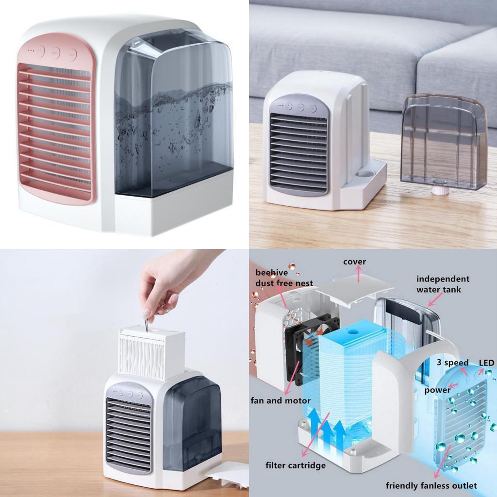 miniature 18 - Ventilateur-de-refroidissement-par-eau-de-refroidisseur-de-climatiseur-de