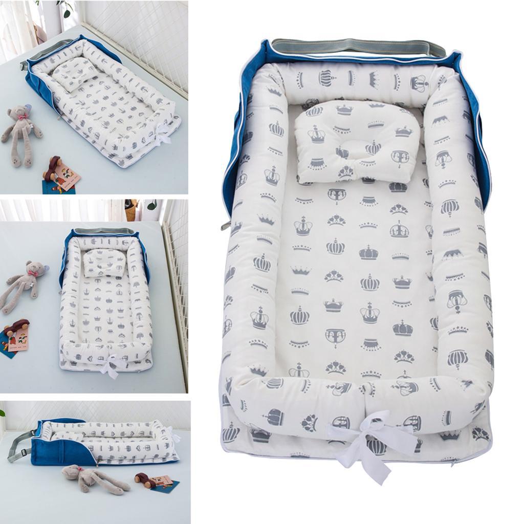 Tragbares Neugeborenes Babybett Nestbett Für Jungen Mädchen Krippe Reisebett