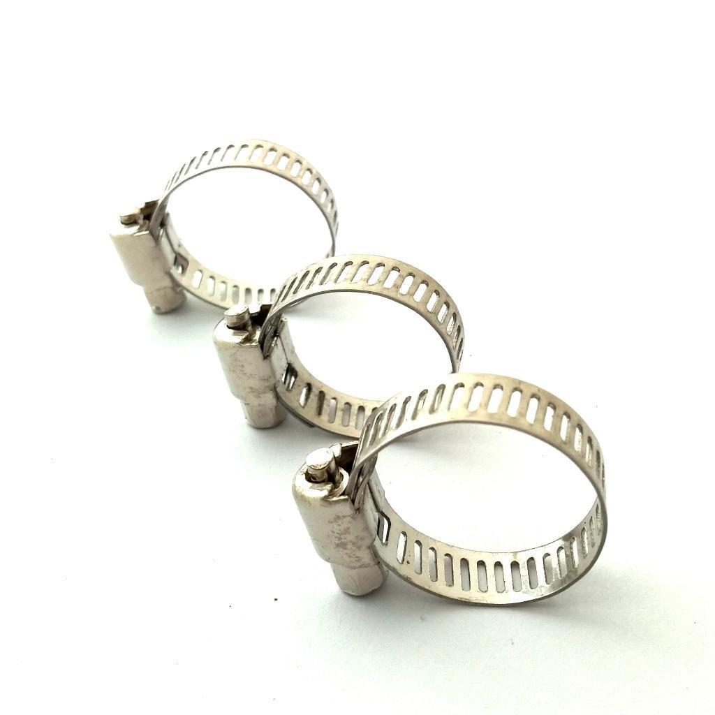 Lot coffret de 26 Colliers de serrage assortiment Vis acier inoxydable réglable