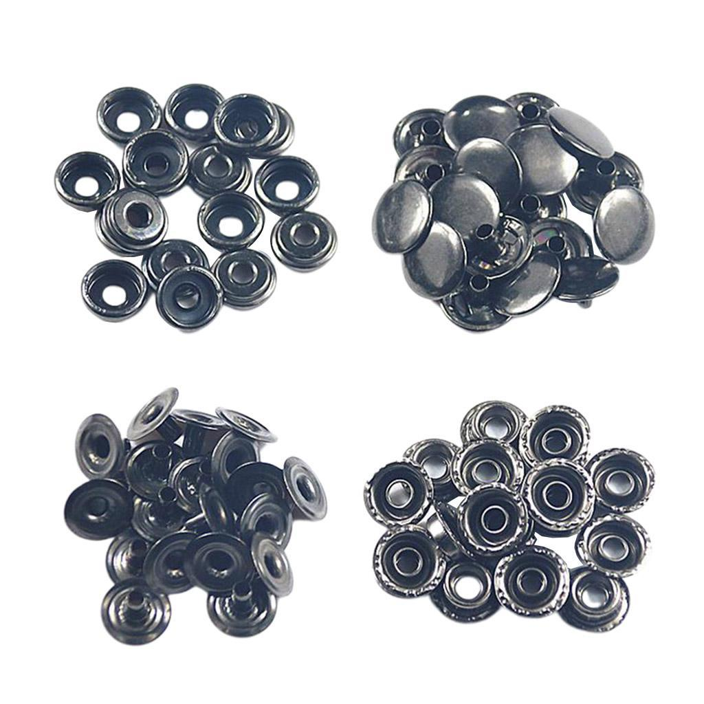 50Pack-Snap-Fasteners-Press-Stud-Button-Leather-Down-Bag-Clouses-Fixing thumbnail 6