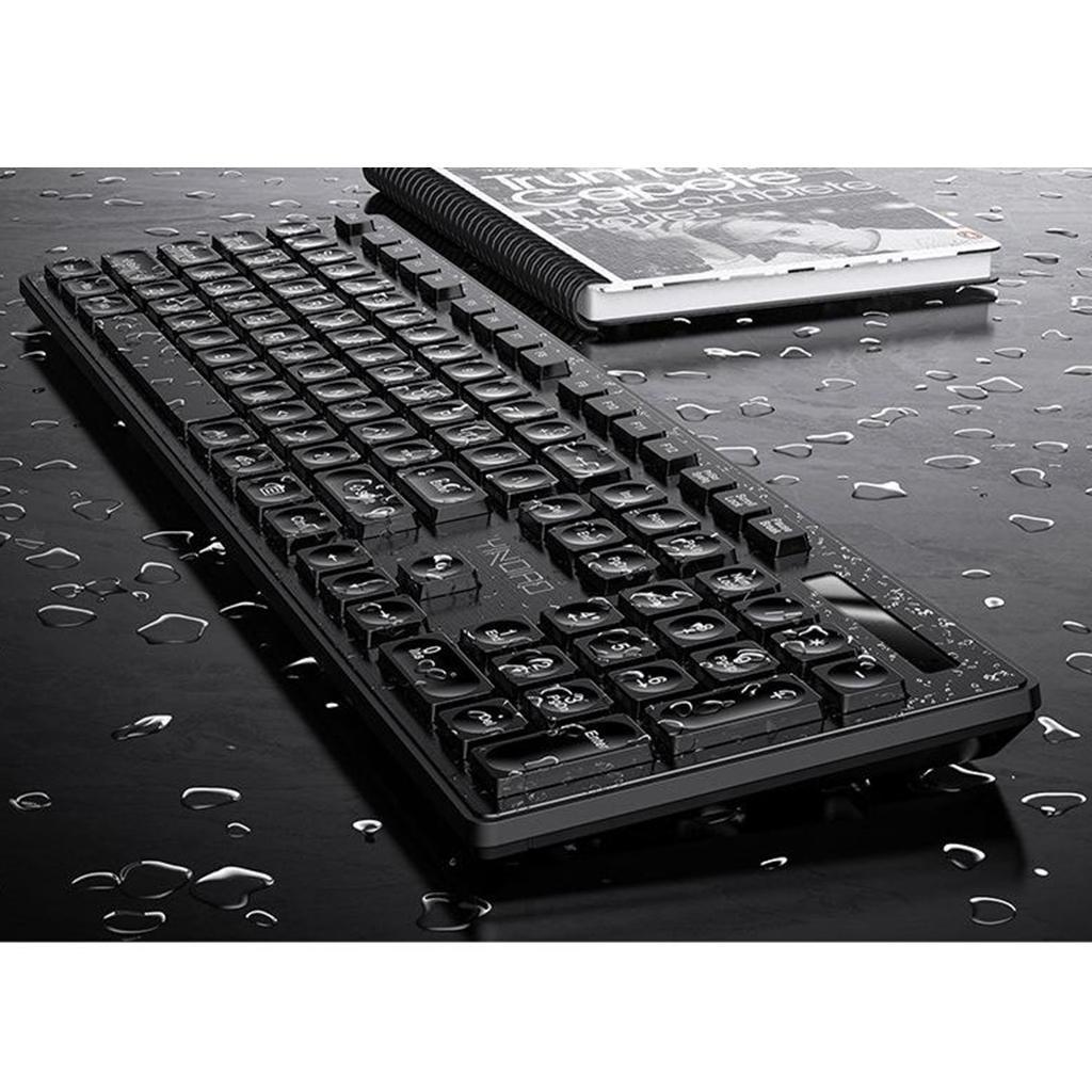 miniature 14 - Ensemble de souris clavier pleine grandeur avec récepteur USB pour ordinateur