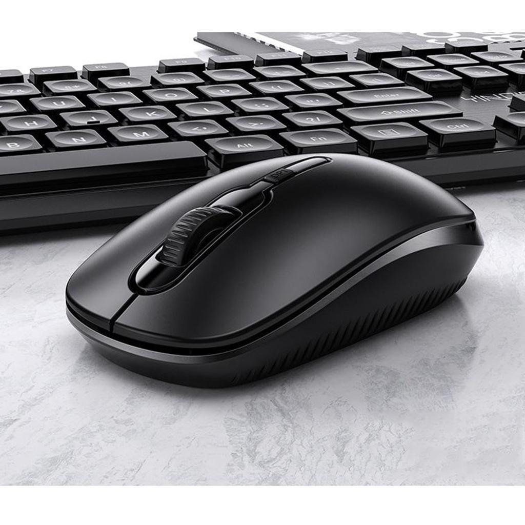 miniature 8 - Ensemble de souris clavier pleine grandeur avec récepteur USB pour ordinateur