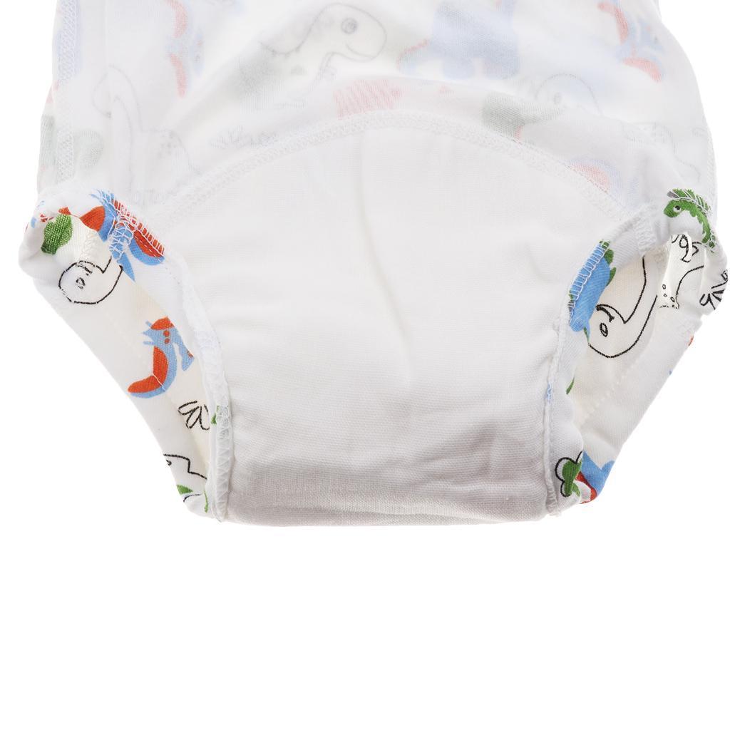 Indexbild 3 - Kleinkind Baby Kinder Baumwolltuch Wasserdicht Pull On Up Pants