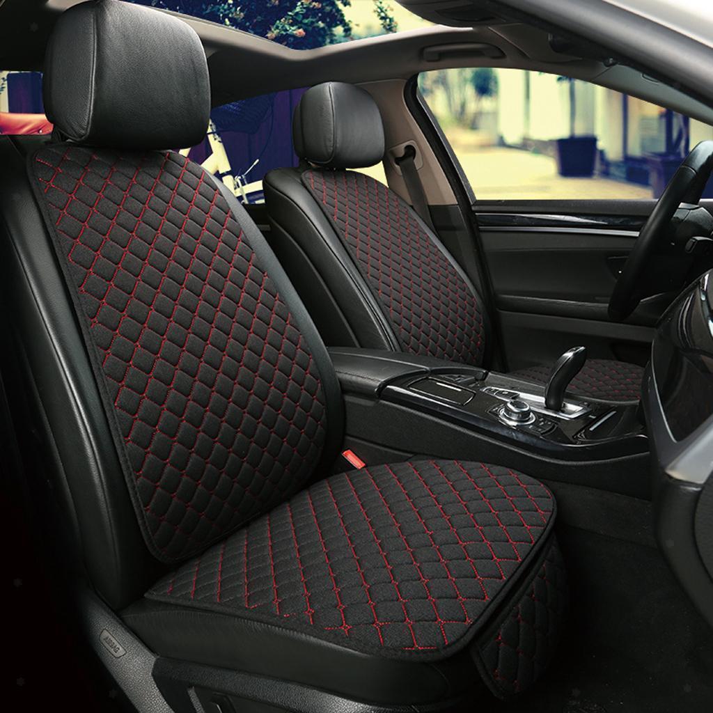 CULASIGN Auto Sitzauflage Sitzkissen Sitzbez/üge Universal Sitzauflagen Vordersitzbez/üge und R/ücksitzbez/üge