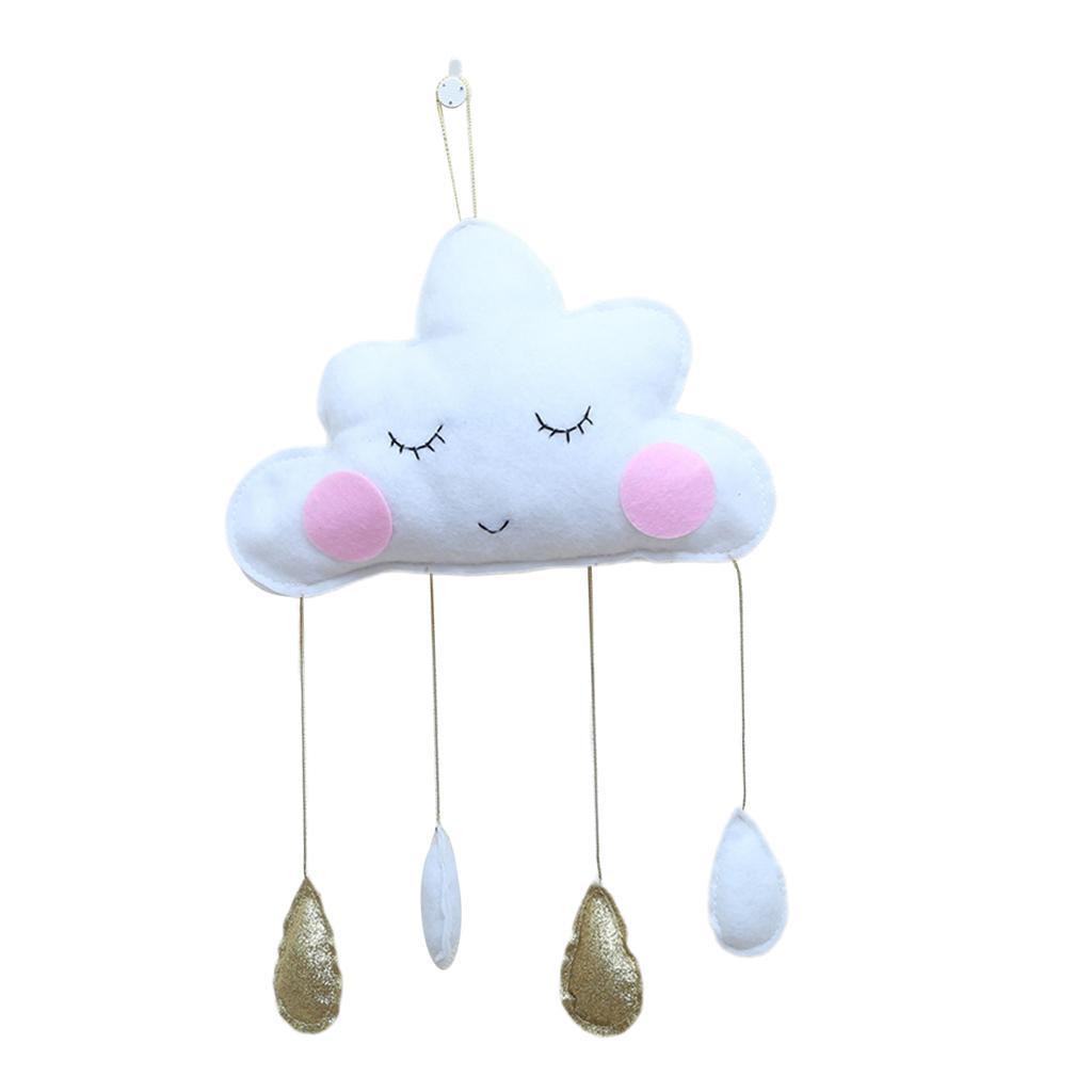 Cotton-Cloud-Raindrop-Bedroom-Hanging-Pedants-Indoor-Home-Decoration thumbnail 7