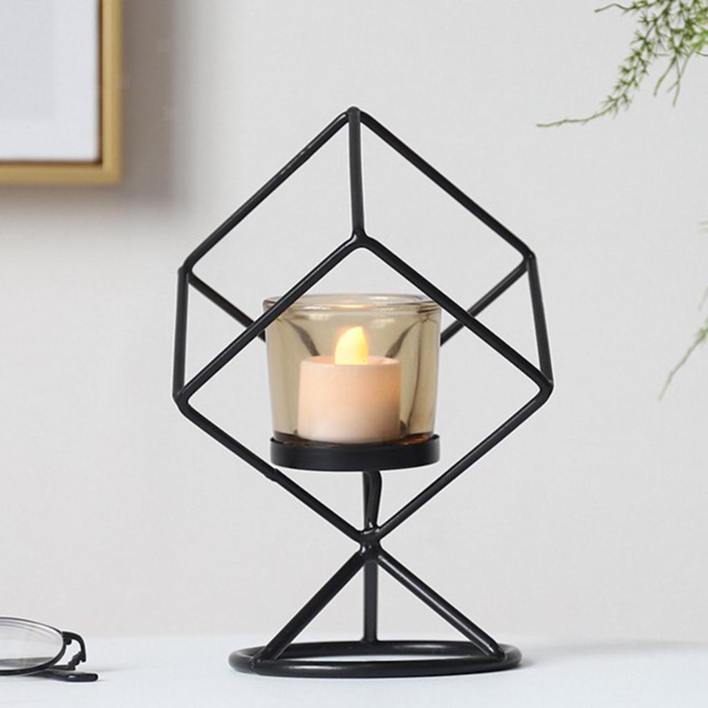 3D-Geometric-Candlestick-Pillar-Candle-Holder-for-Party-Room-Home-Decor thumbnail 6