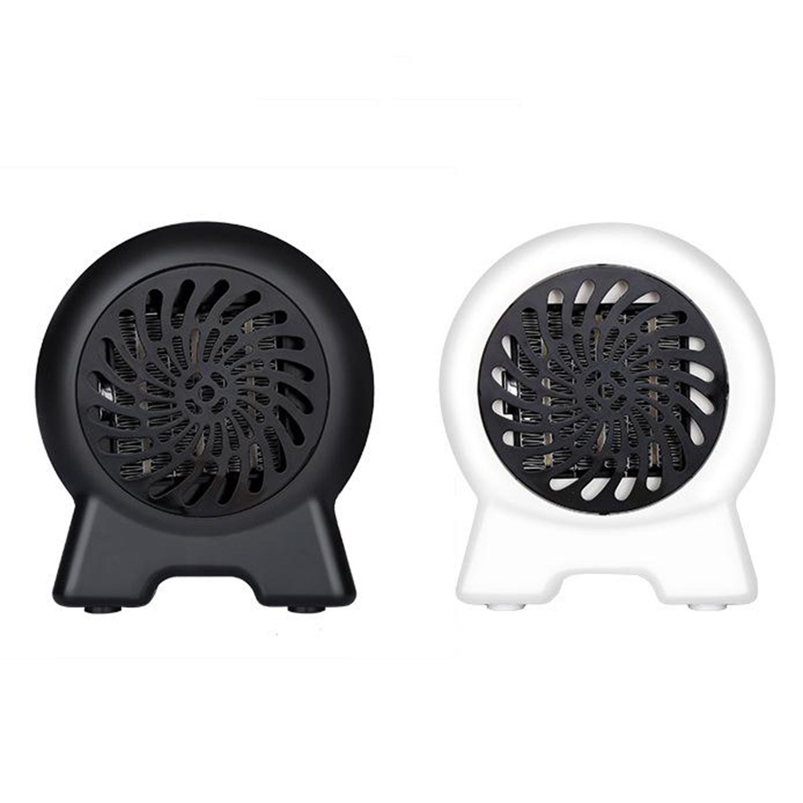 500W Electric Fan Space Heater Portable Winter Warm Home Off