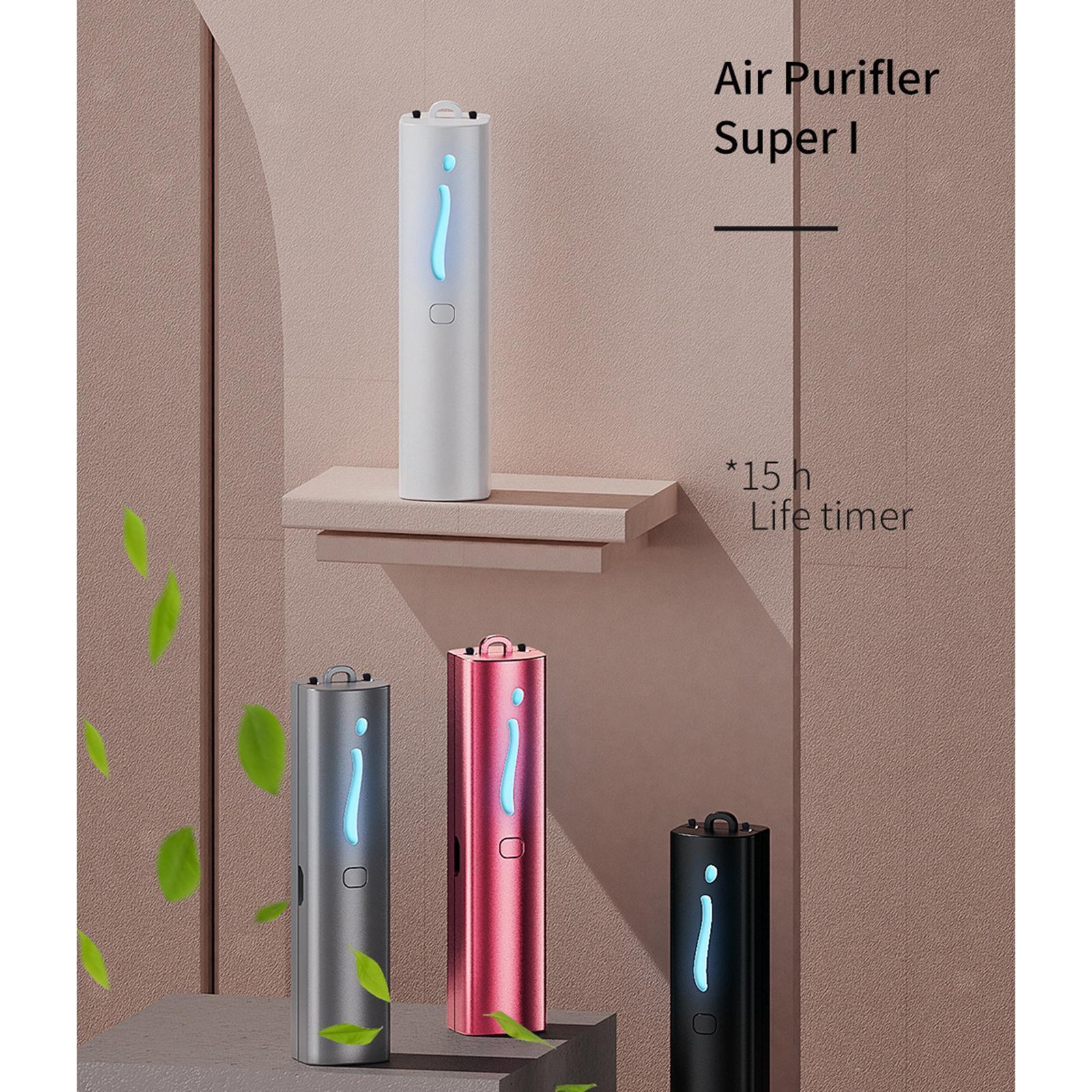 Indexbild 4 - Air Purifier Luft Reiniger Halskette Negative Ionen Generator USB Aufladbare