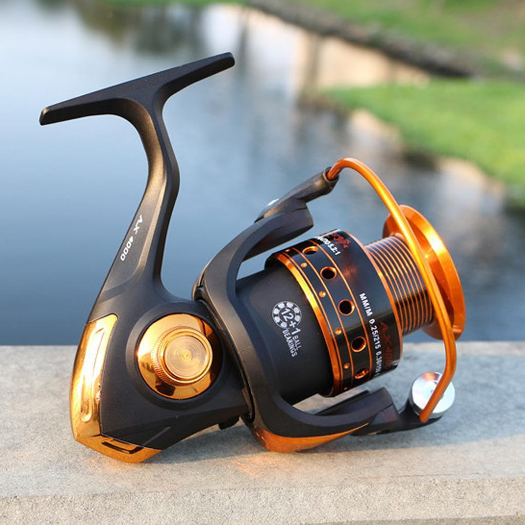 13BB-High-Speed-Metal-Right-Left-Saltwater-Fishing-Spinning-Pole-Reel-Fish-Reels thumbnail 8