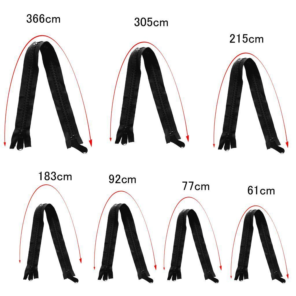 Fermetures-A-Glissieres-Zippers-Ouvrables-Separables miniature 6