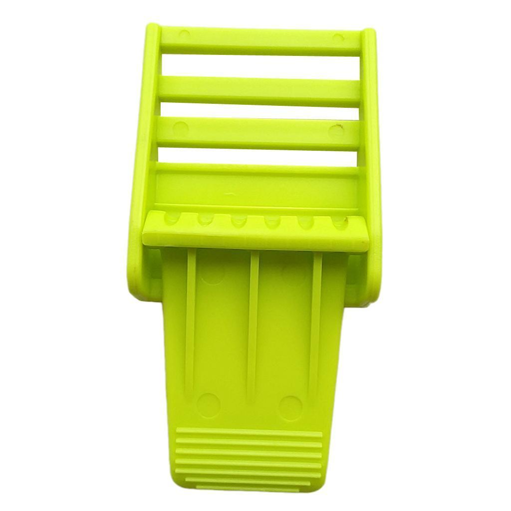 "Indexbild 4 - Durable Plastic Universal Scuba Diving 2 ""Gewicht Gürtelschnalle Ersatzset"