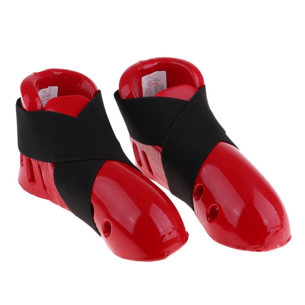 Indexbild 15 - Foam Pad Kids Taekwondo Fußschutz Karate Sparring Feet Protector Footgear