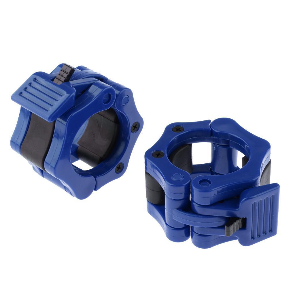 Hantelverschluesse-25-mm-30-mm-50mm-Kunststoff-Schnellverschluesse Indexbild 7