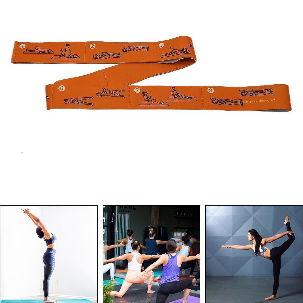miniatura 36 - Pulsera stretch elástica bailar banda pilates Dance pierna prolongar camilla