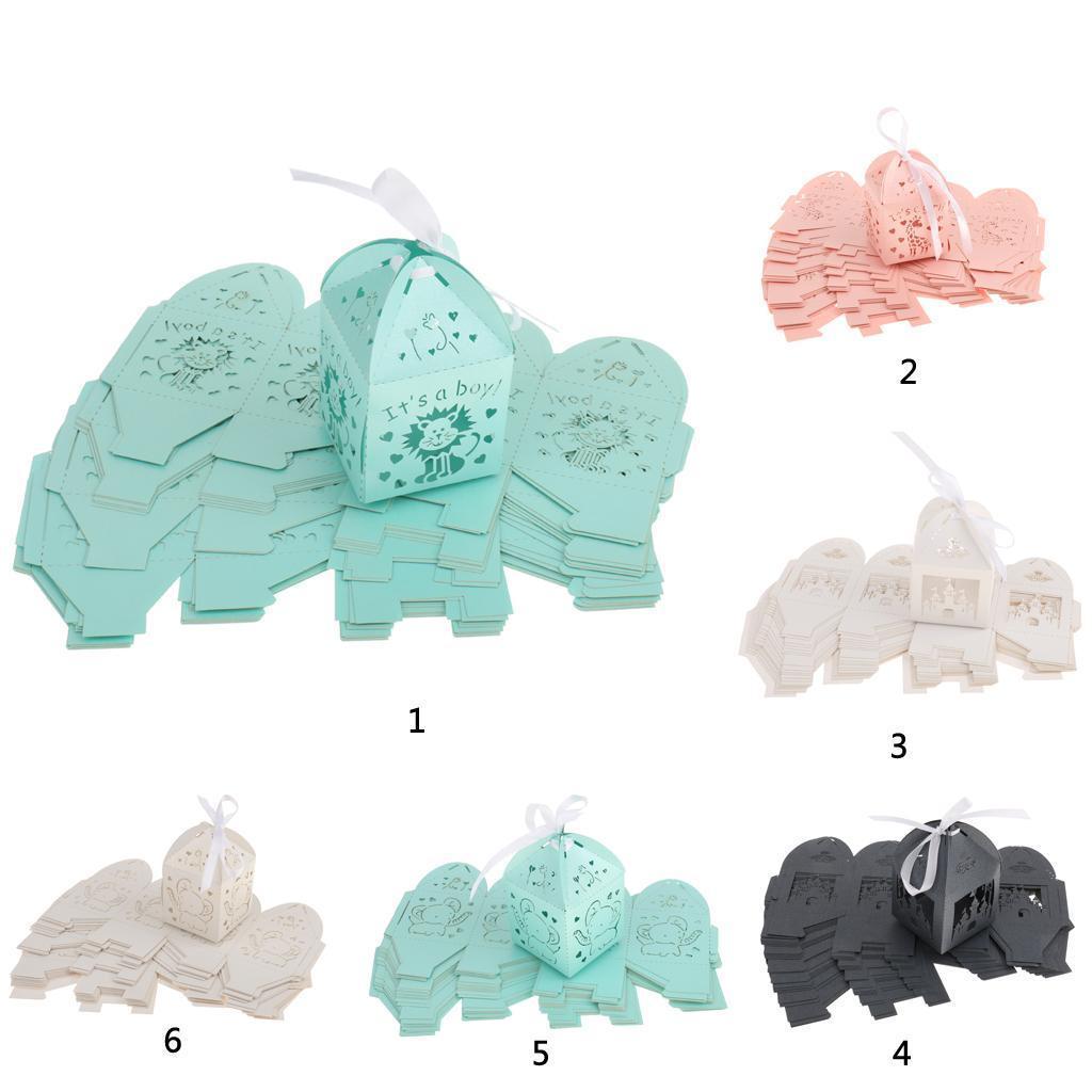 Confezione-regalo-mini-caramelle-vuote-da-25-pezzi-per-baby-shower-compleanno miniatura 3