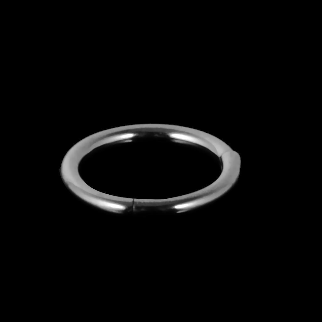 Stainless-Steel-14g-16g-Hinged-Clicker-Septum-Segment-Hoop-Ring-Ear-Lip-Nose thumbnail 5