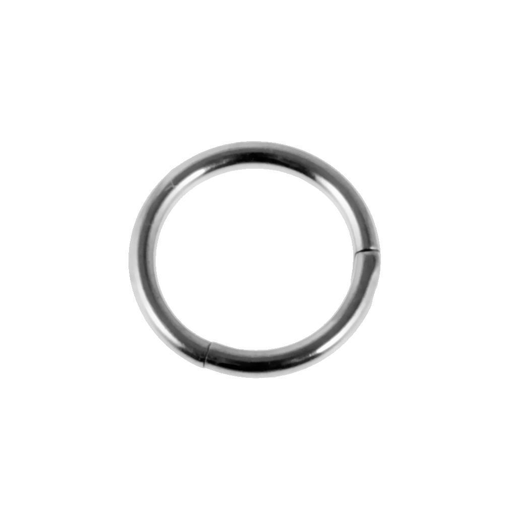 8mmx16g-Seamless-Hinged-Segment-Clicker-Ring-Hoop-Ear-Lip-Nose-Septum-Piercing thumbnail 5