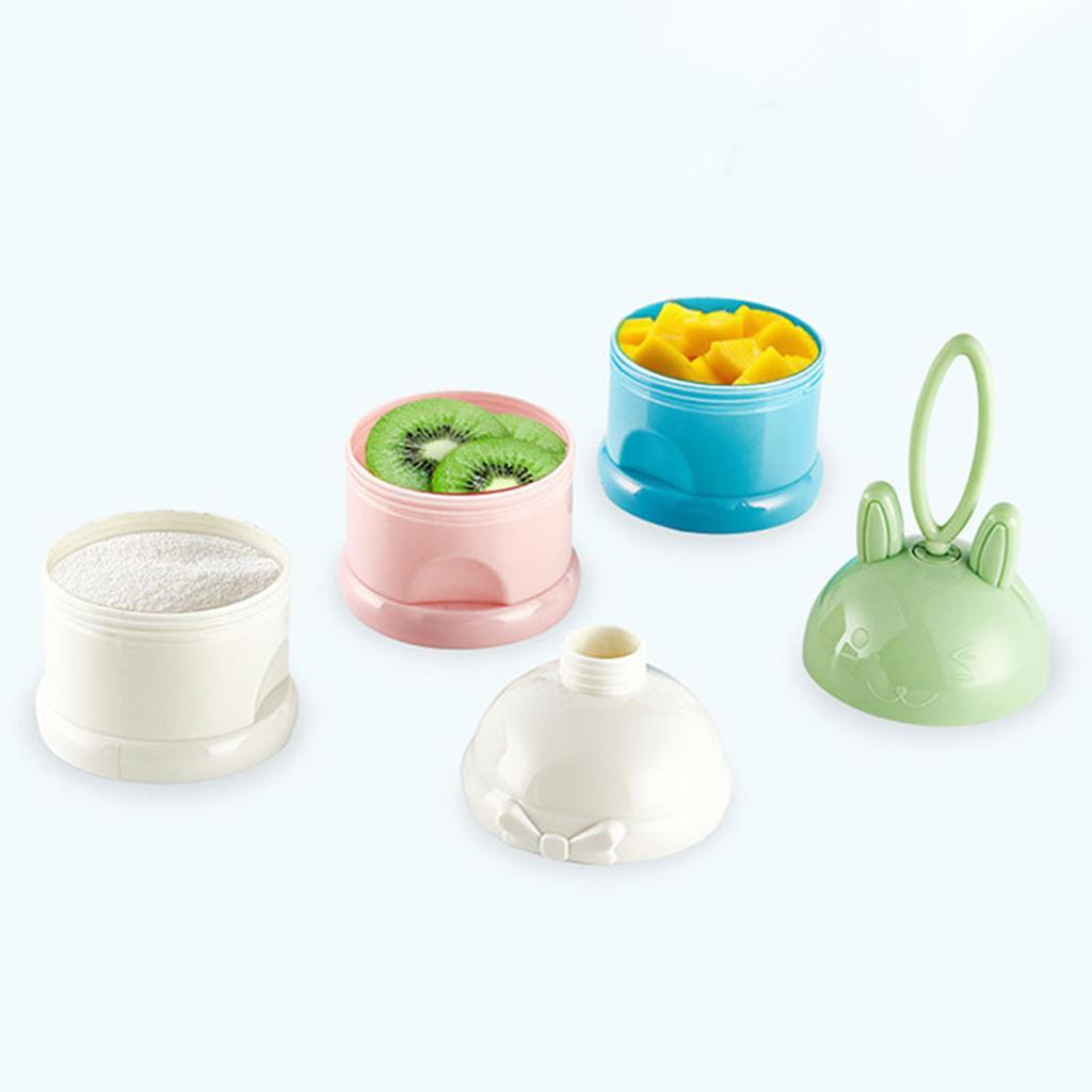 thumbnail 6 - 3 Layers Food-Grade Baby Milk Powder Dispenser Container Feeding Bottle