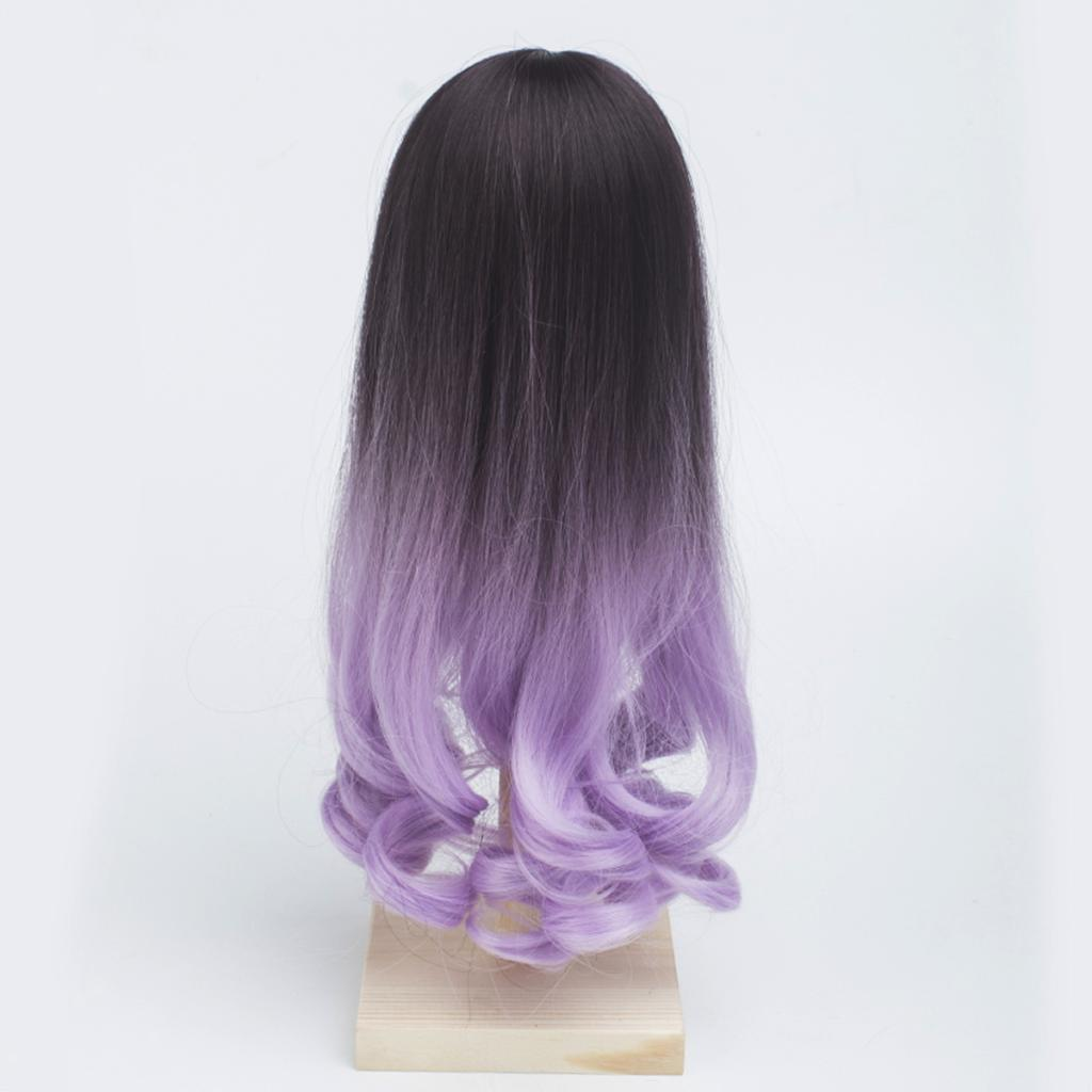 Long-Curly-Wig-30cm-for-Night-Lolita-for-Dollfie-for-MSD-1-3-1-4-BJD-Doll thumbnail 7