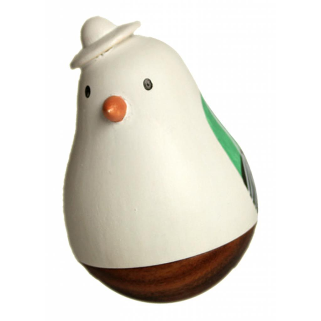Wooden-Tumbler-Craft-Wood-Animal-Figure-Toy-Office-Desk-Decor-Ornament thumbnail 31